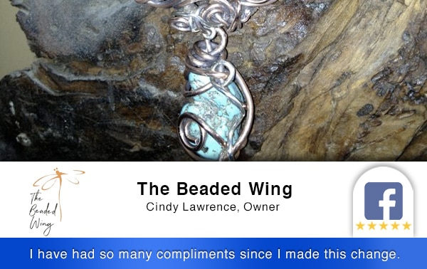 4-Review Beaded Wing