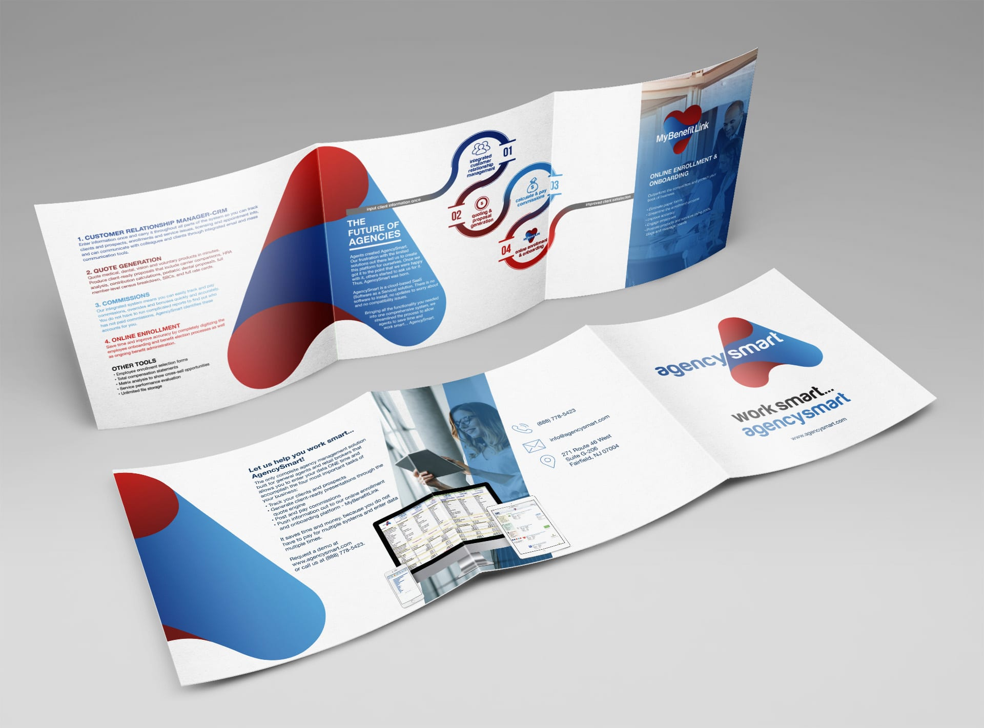 Trifold Brochure Deign Software Company
