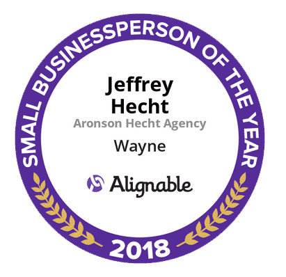 2018 Business person of the year award