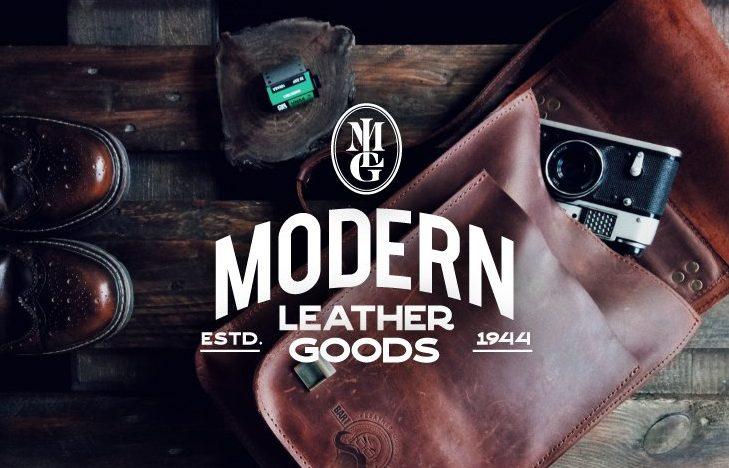 Modern Leather Goods Branding, Logo Design, Website Design