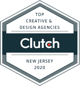 Clutch Award fo NJ creative agency 2020