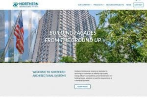 Northern Architectural Systems website
