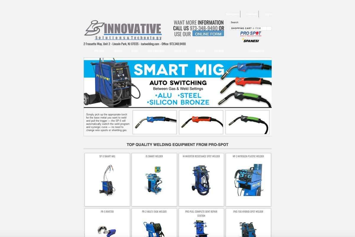 Auto Body Repair equipment supplier website before aha