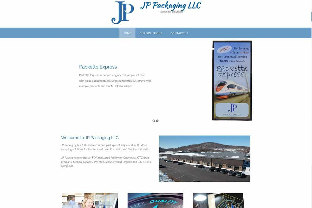 JPPkg Website before redisgn