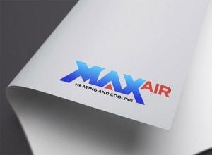 Max Air Logo Design Banner Art