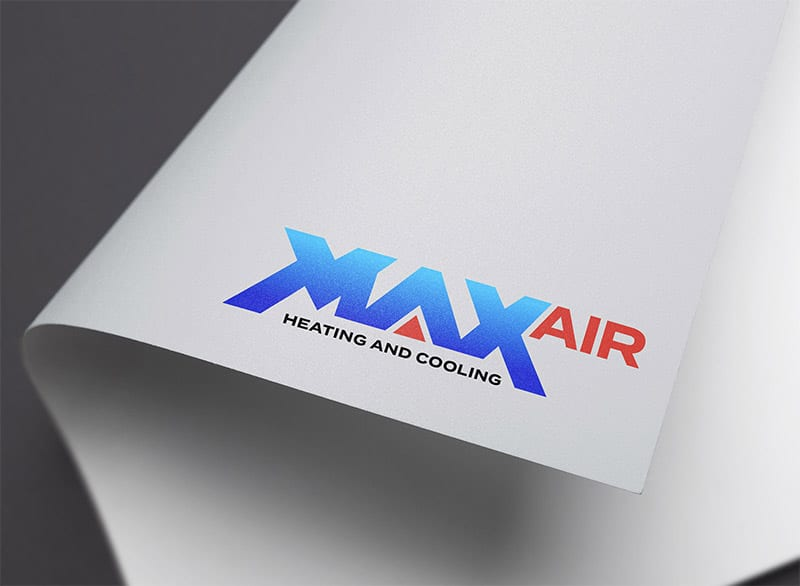 Max Air Logo Design Banner Art