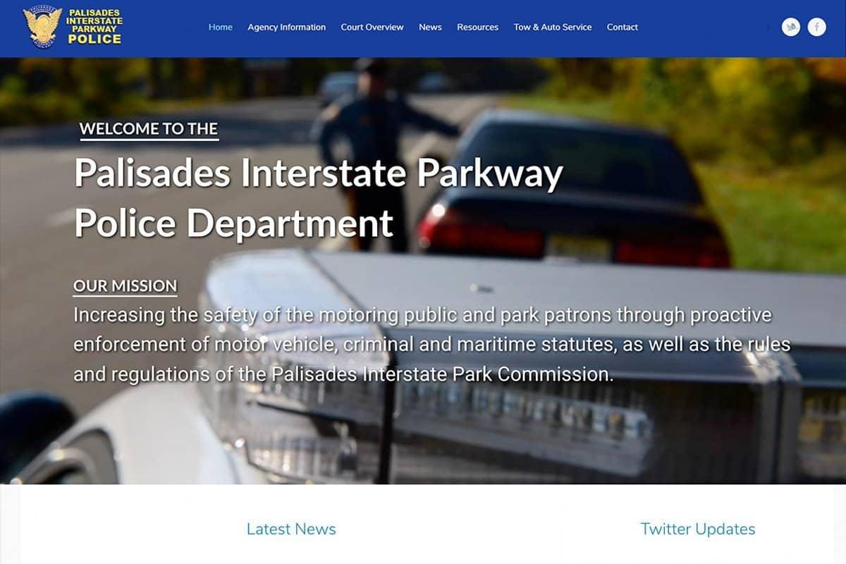 Police Department website desiign