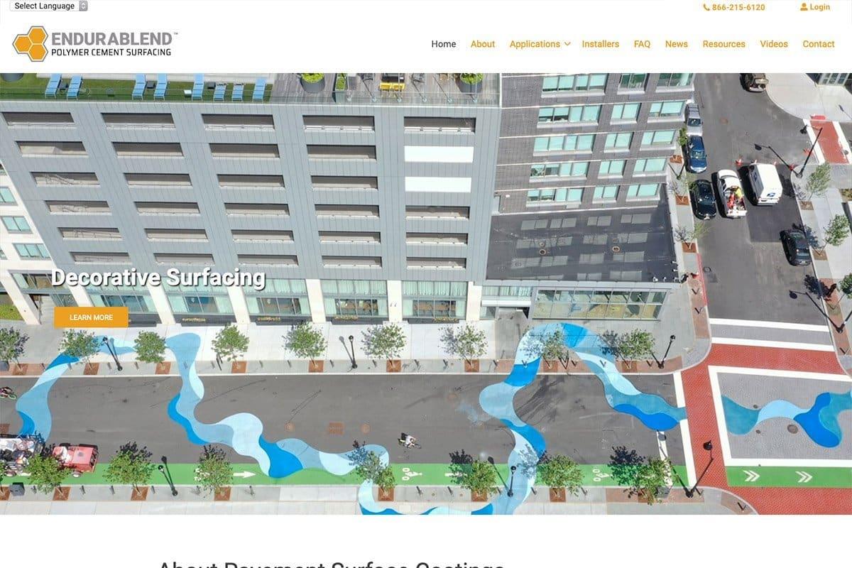Pavement Surface Coatings Screenshot