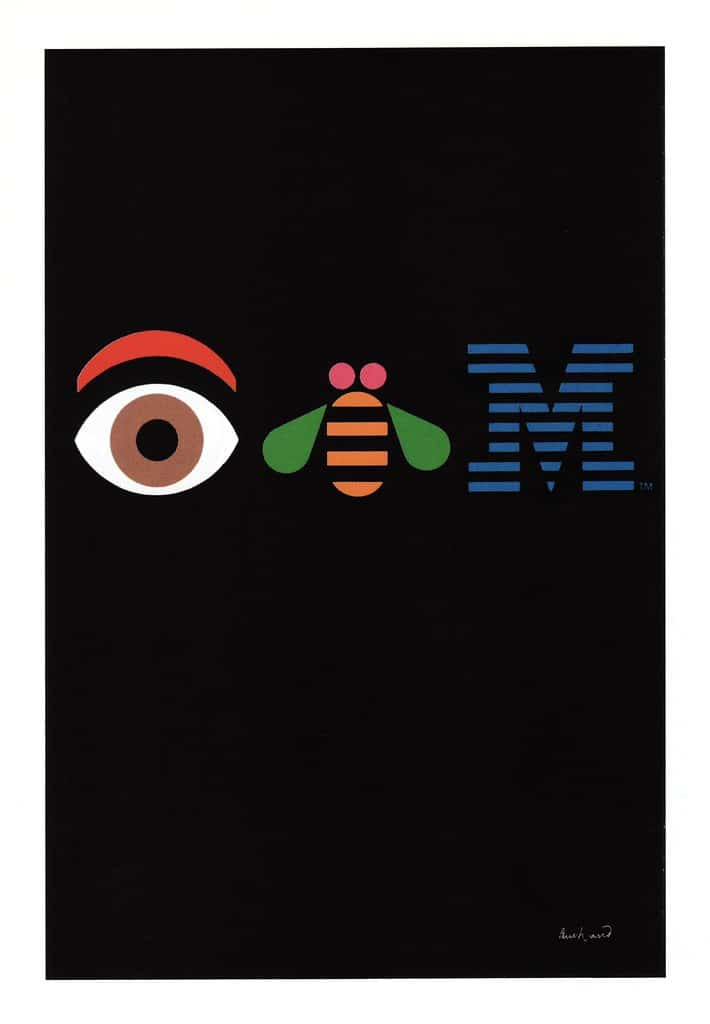 Paul Rand IBM Poster