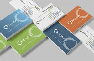 Stratford Marketing Business Card Design