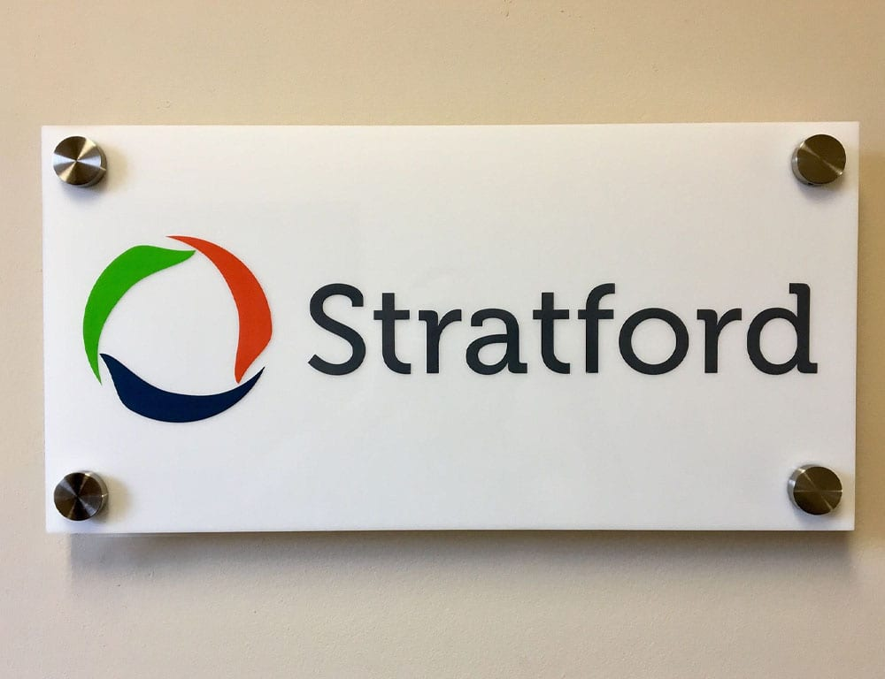 Stratford Sign